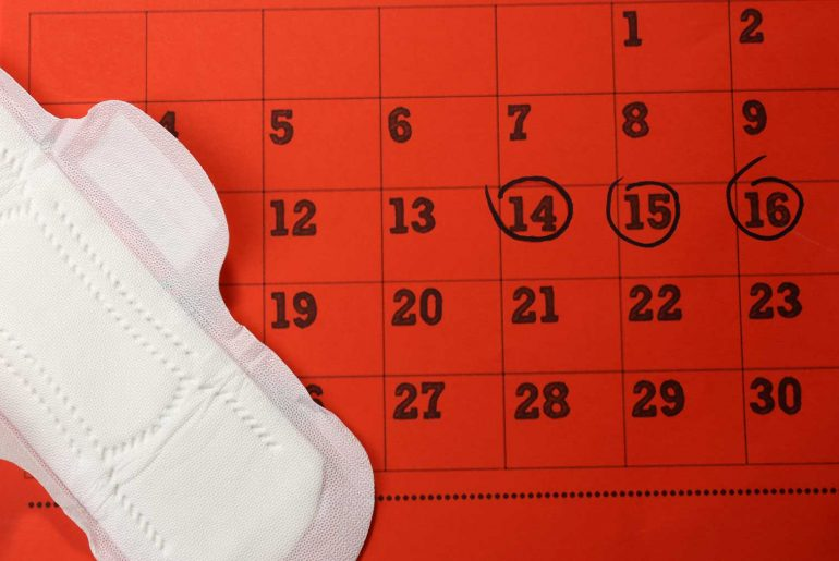 Menstruáció gyerekekkel