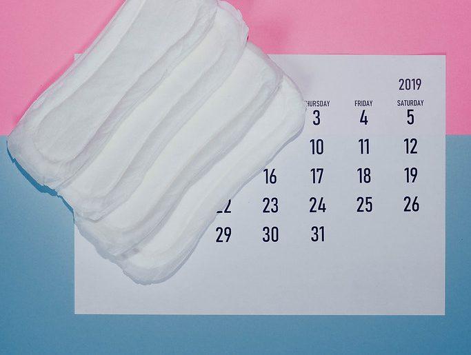 menstruációs ciklus betét naptár