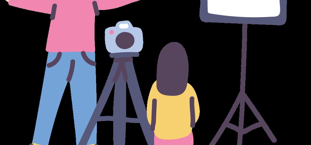Fotózás, nyilvános szereplés