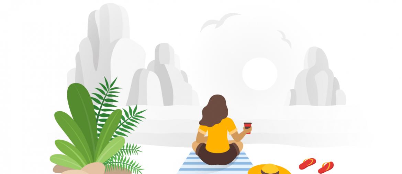 Nyár, pihenés, lustálkodás